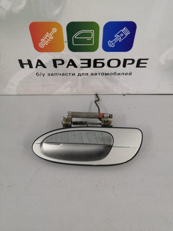 Ручка двери внешняя Nissan Maxima A33 VQ20DE 2004 задняя левая (б/у)
