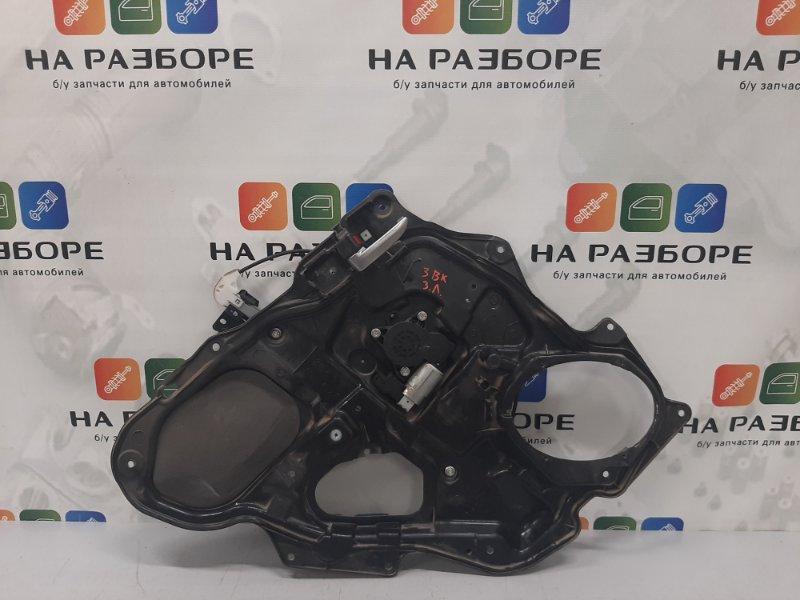 Стеклоподъемник Mazda 3 BK 1.6 2008 задний левый (б/у)