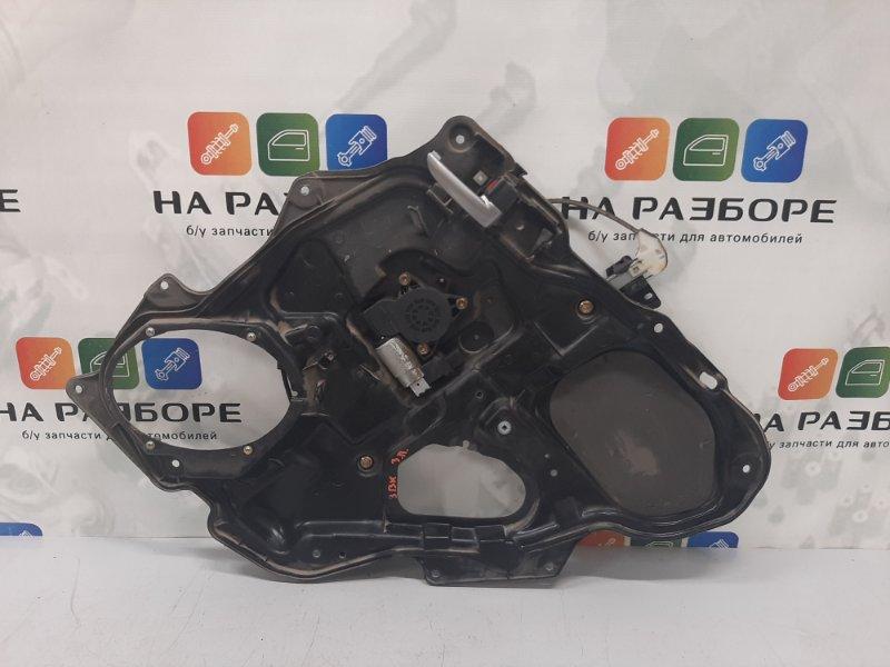 Стеклоподъемник Mazda 3 BK 1.6 2008 задний правый (б/у)