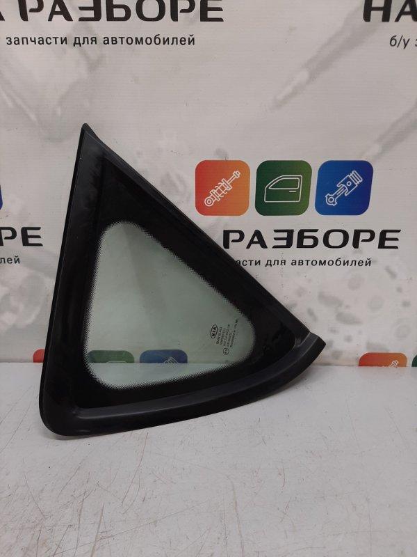 Форточка в крыло Kia Ceed ED G4FC 2008 задняя правая (б/у)