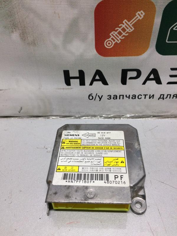 Блок управления air bag Chevrolet Lacetti (б/у)