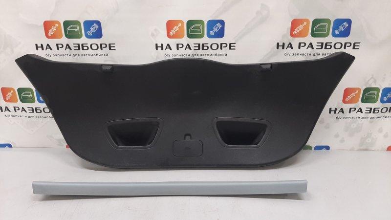 Обшивка крышки багажника Kia Ceed ED G4FC 2008 (б/у)
