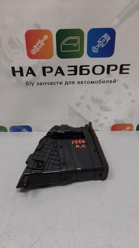 Дефлектор на торпедо Kia Ceed ED G4FC 2008 правый (б/у)