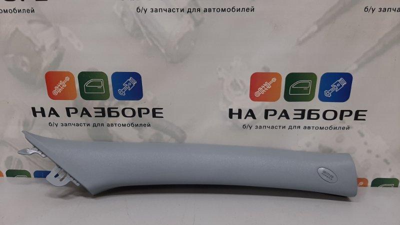 Накладка на стойку внутренняя Kia Ceed ED G4FC 2008 передняя правая (б/у)