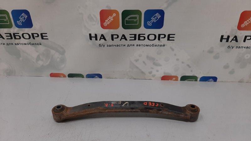 Поперечная тяга Kia Ceed ED G4FC 2008 задняя левая (б/у)