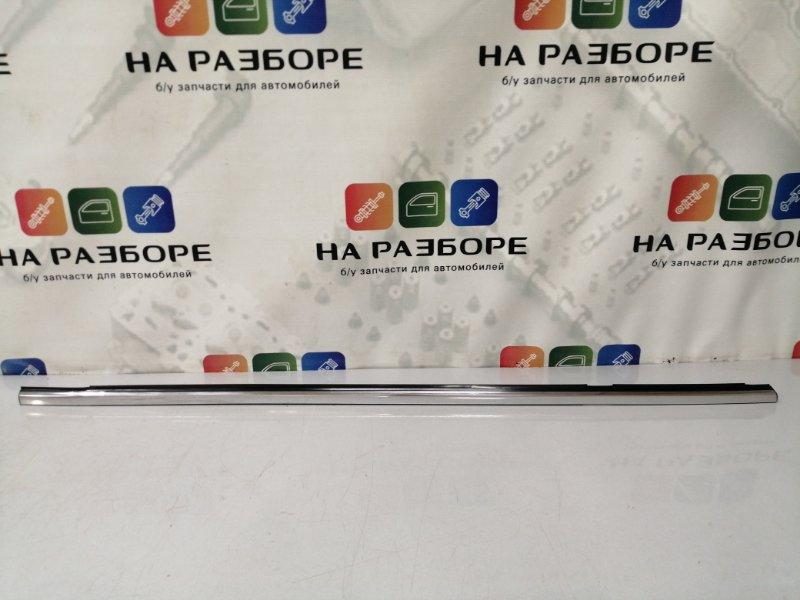 Молдинг стекла Infiniti Qx56 Z62 VK56 2012 задний левый (б/у)