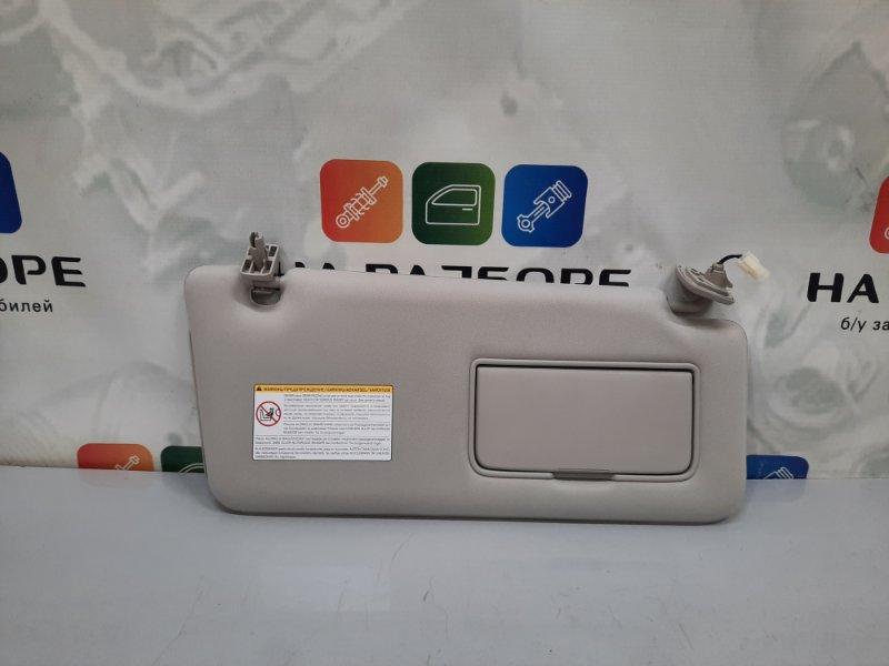 Козырек солнцезащитный Infiniti Qx56 Z62 VK56 2012 правый (б/у)