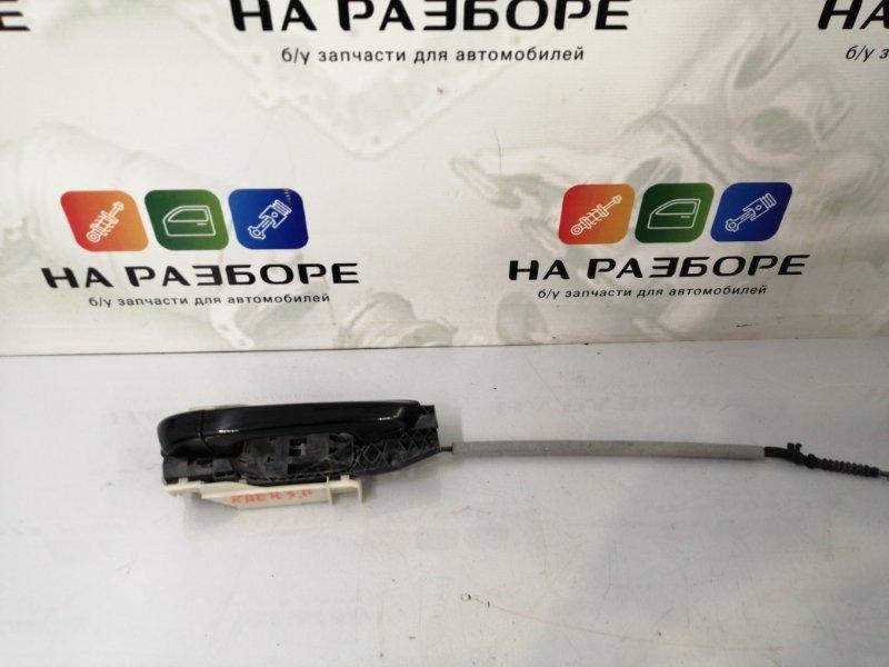 Ручка двери внешняя Porsche Cayenne 958 M48.02 2014 задняя правая (б/у)