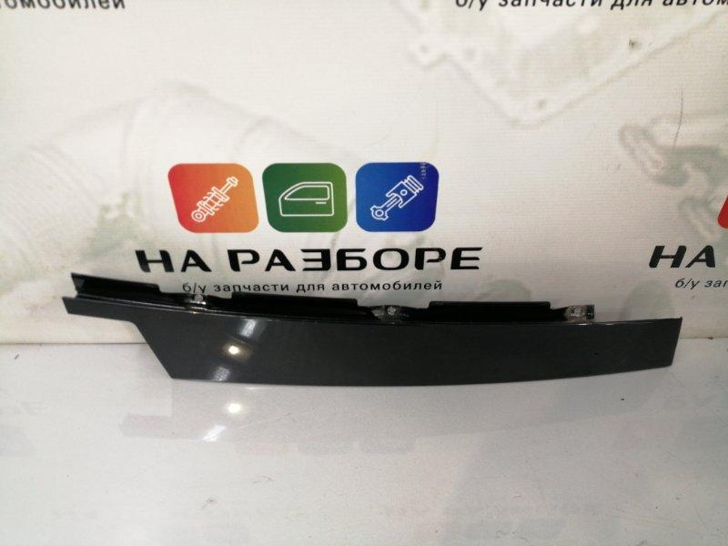 Накладка двери наружная Porsche Cayenne 958 M48.02 2014 передняя левая (б/у)