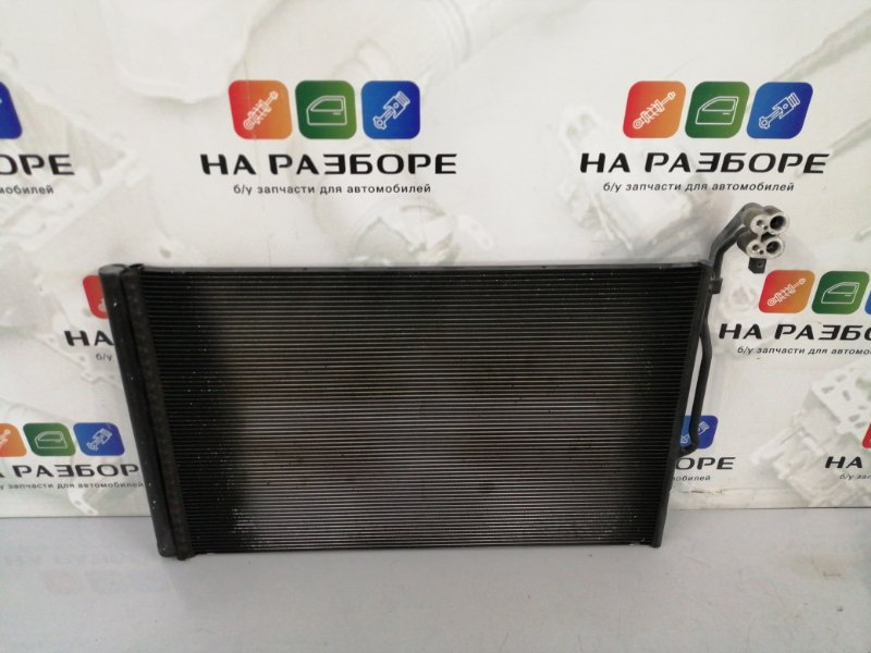 Радиатор кондиционера Porsche Cayenne 958 M48.02 2014 (б/у)