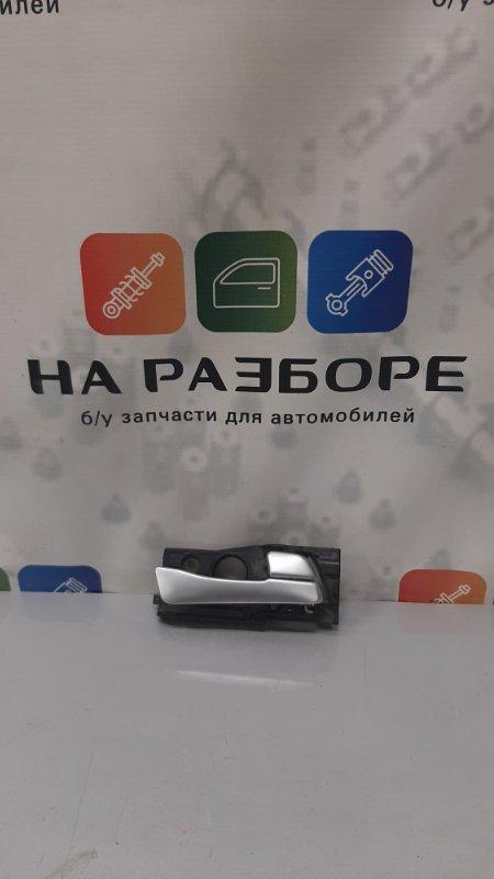Ручка двери внутренняя Hyundai Solaris задняя правая (б/у)