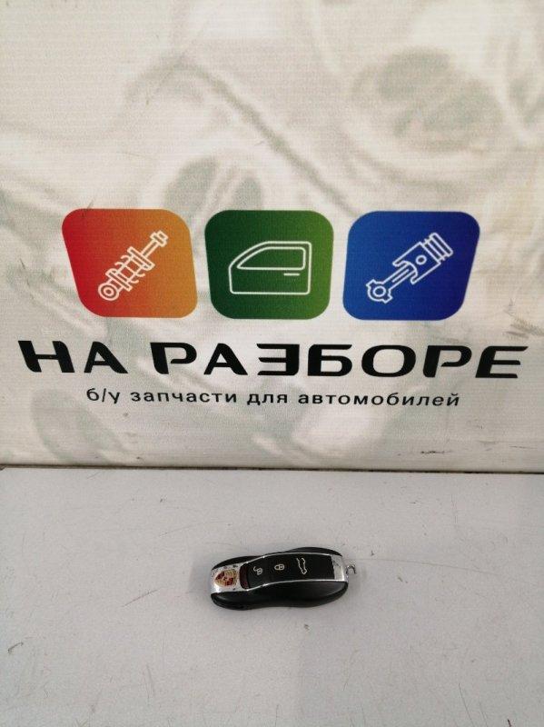 Ключ замка зажигания Porsche Cayenne 958 M48.02 2014 (б/у)