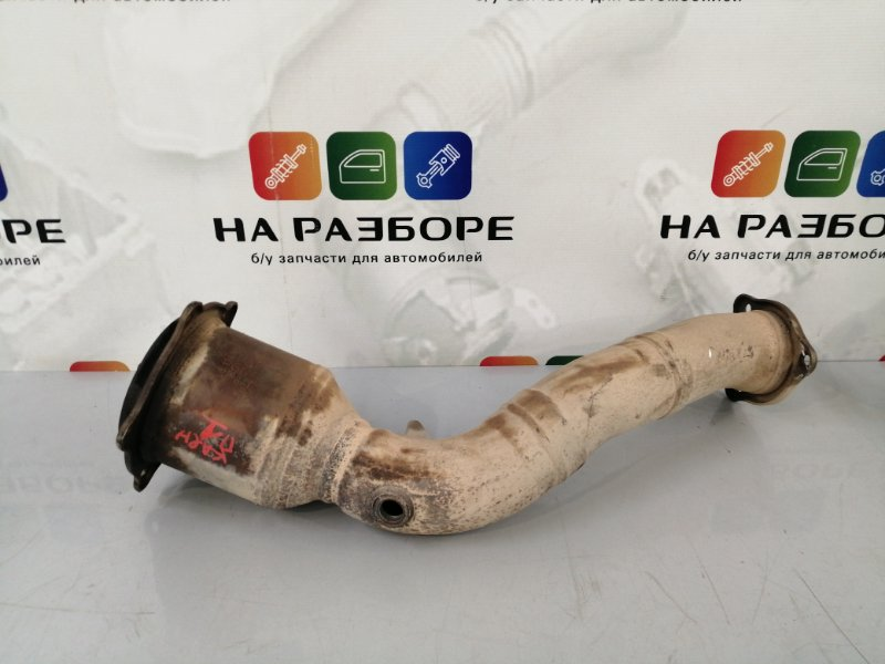 Приемная труба Porsche Cayenne 958 M48.02 2014 правая (б/у)