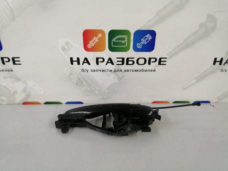 Ручка двери внешняя Volvo S60 FS45 B4164T3 2012 задняя левая (б/у)