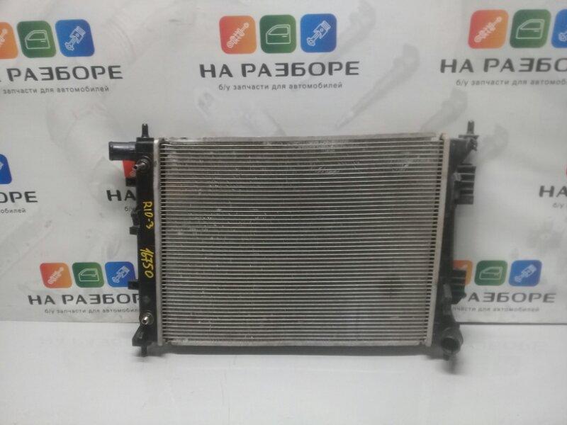 Радиатор двс Kia Rio 3 (б/у)
