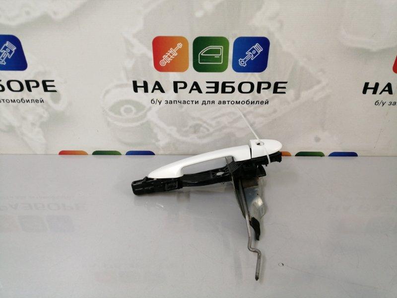 Ручка двери внешняя Mazda 6 GH L813 2011 передняя левая (б/у)
