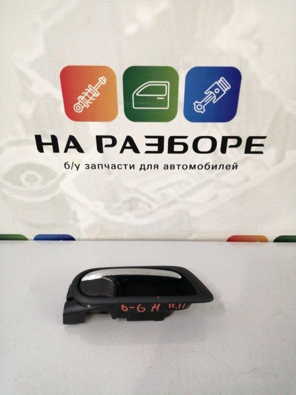 Ручка двери внутренняя Mazda 6 GH L813 2011 передняя правая (б/у)