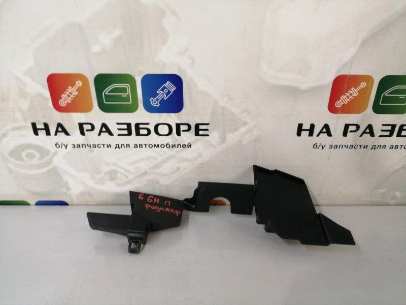 Дефлектор радиатора Mazda 6 GH L813 2011 правый (б/у)