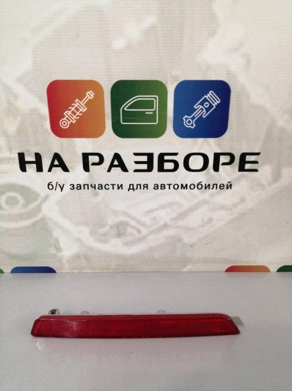 Катафот бампера Mazda 6 GH L813 2011 задний левый (б/у)