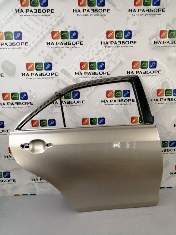 Дверь Toyota Camry XV40 2AZ-FE 2008 задняя правая (б/у)