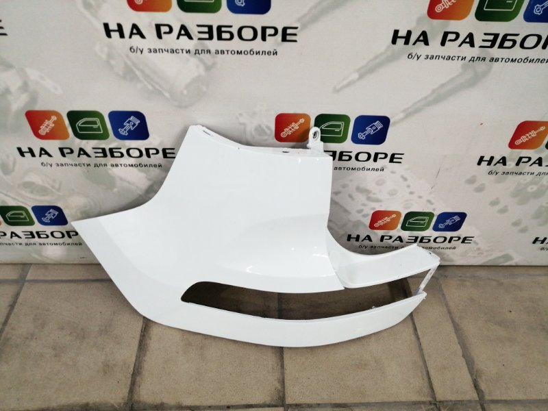 Бампер Kia Sportage 3 задний левый (б/у)