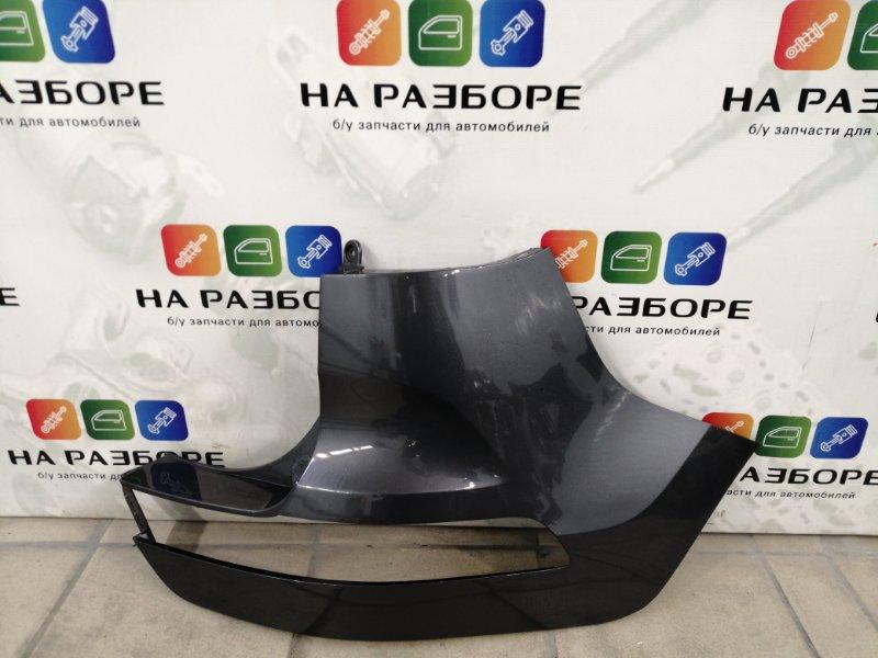 Бампер Kia Sportage 3 задний правый (б/у)