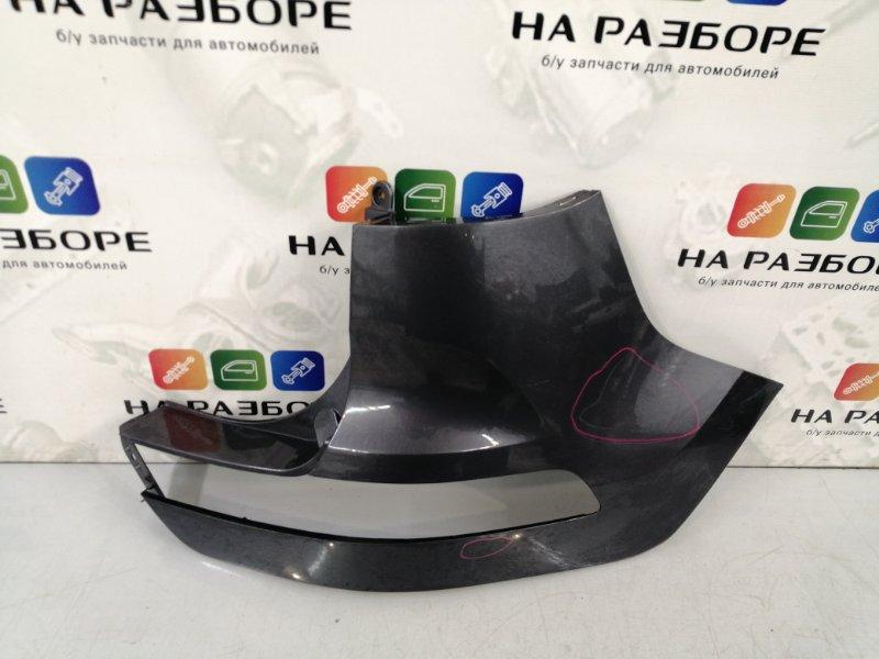 Накладка на бампер Kia Sportage 3 задняя правая (б/у)