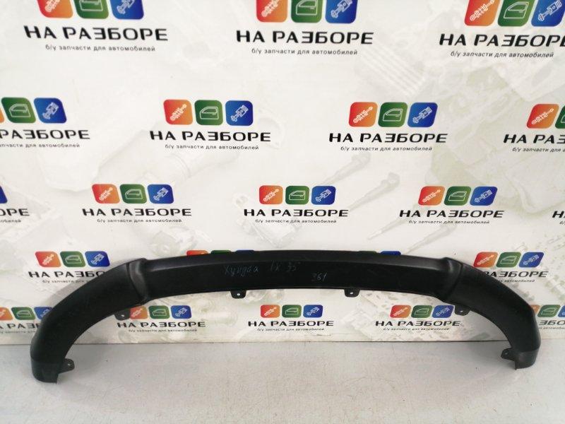 Накладка на бампер Hyundai Ix 35 1 передняя (б/у)