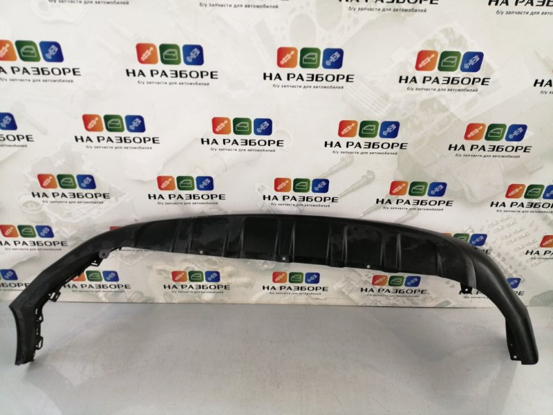 Накладка на бампер Kia Sportage 4 QL задняя (б/у)
