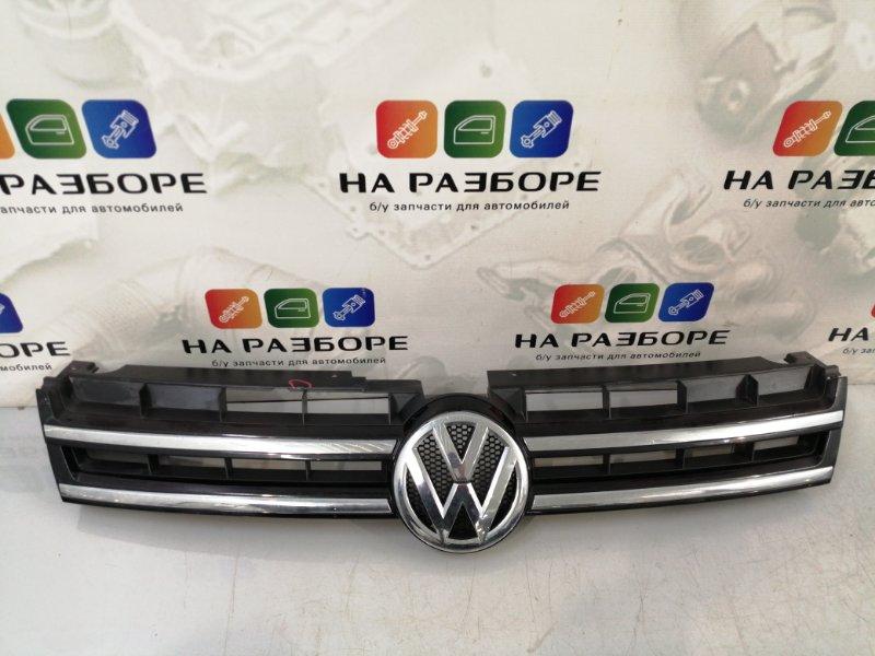 Решетка радиатора Volkswagen Touareg 2 (б/у)