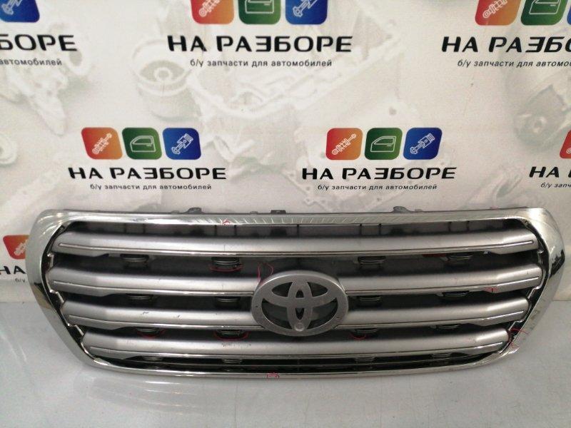 Решетка радиатора Toyota Land Cruiser 200 (б/у)
