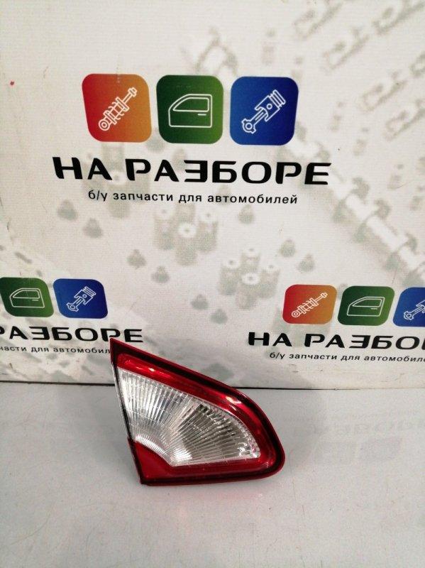 Фонарь Nissan Qashqai 1 РЕСТ задний левый (б/у)