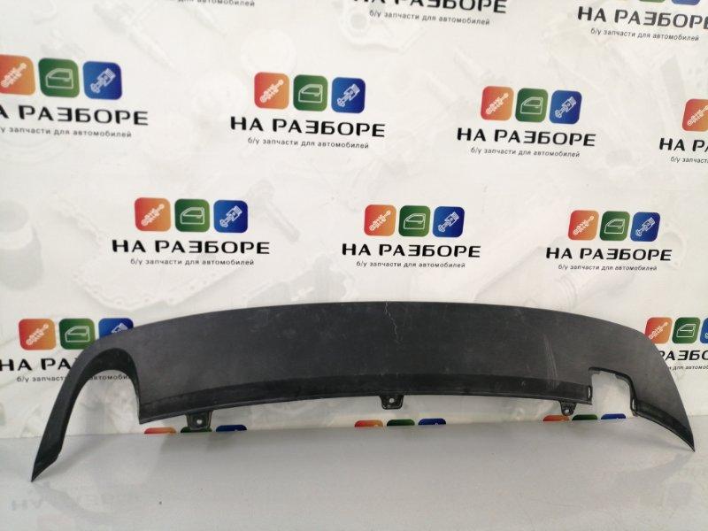 Накладка на бампер Volkswagen Jetta задняя (б/у)