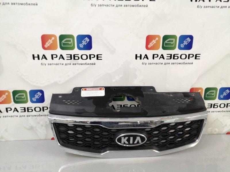Решетка радиатора Kia Rio 2 (б/у)