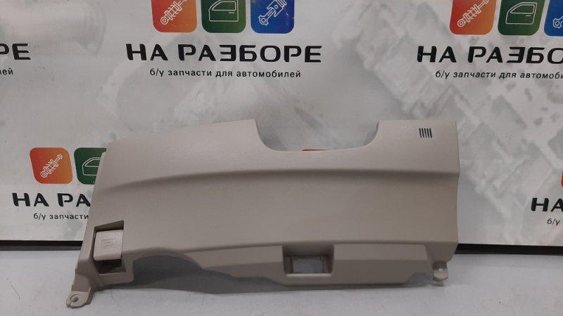 Накладка торпедо под рулевой колонкой Toyota Camry XV40 2AZ-FE 2008 (б/у)