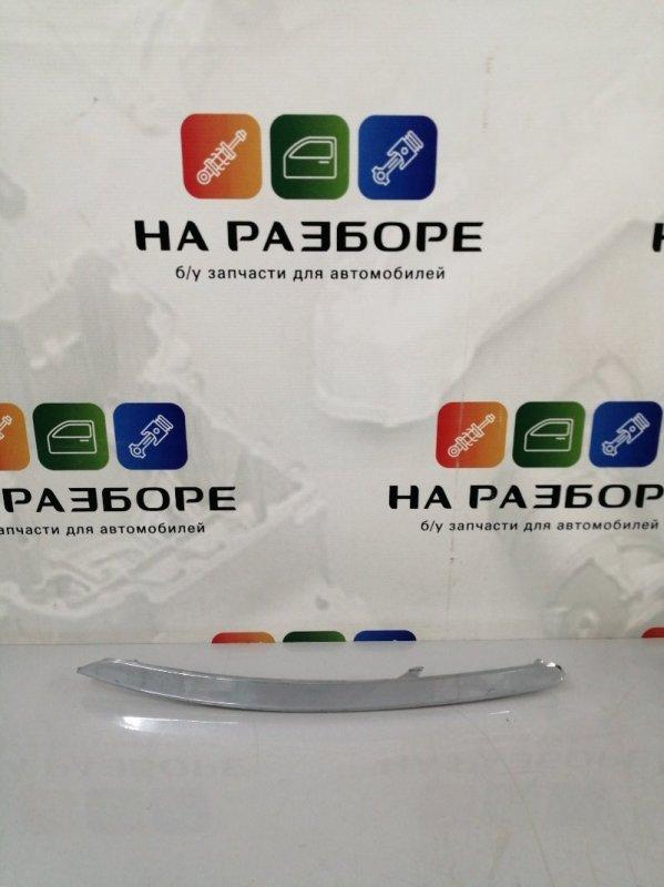 Накладка на бампер Kia Sportage передняя левая (б/у)