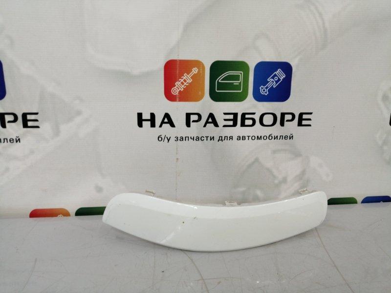 Накладка на бампер Opel Zafira задняя правая (б/у)