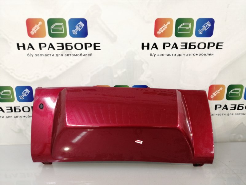 Накладка на бампер Cadillac Escalade 3 задняя (б/у)
