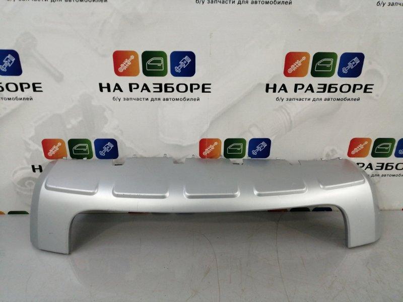 Накладка на бампер Skoda Yeti передняя (б/у)