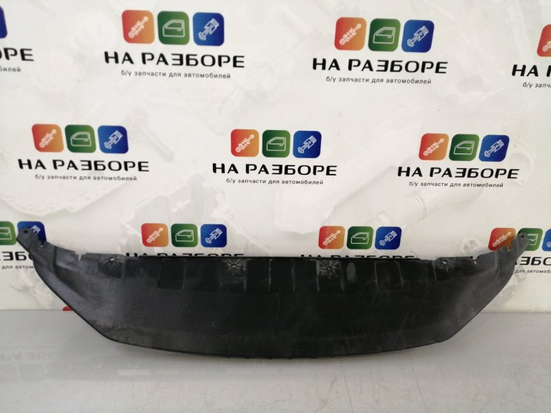 Накладка на бампер Skoda Fabia  2 передняя (б/у)