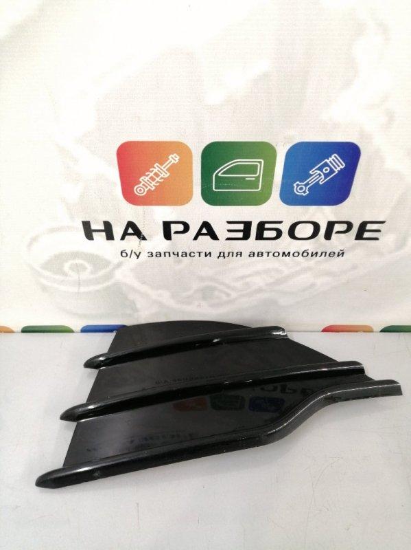 Накладка на бампер Ford Kuga передняя левая (б/у)