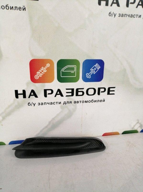 Накладка на бампер Opel Mokka передняя левая (б/у)