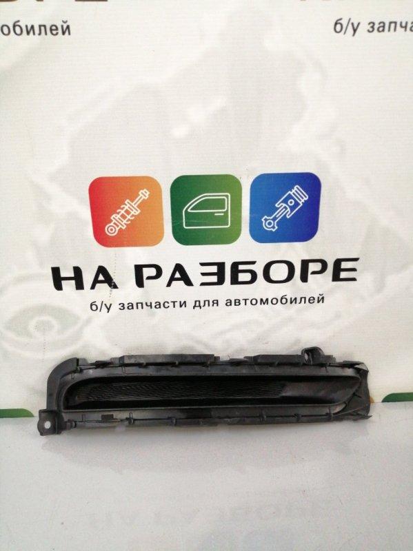 Накладка на бампер Kia Rio 3 передняя правая (б/у)