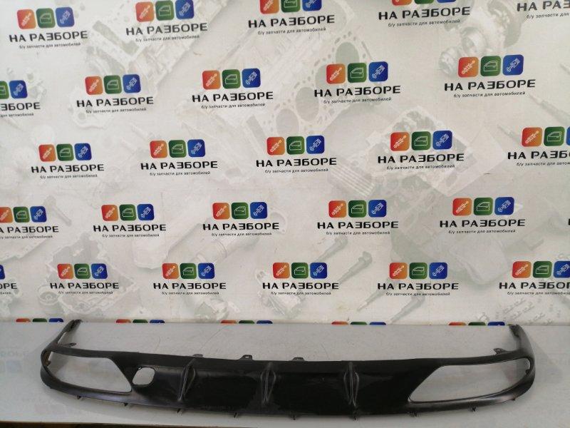 Накладка на бампер Lexus Gs 350 задняя (б/у)