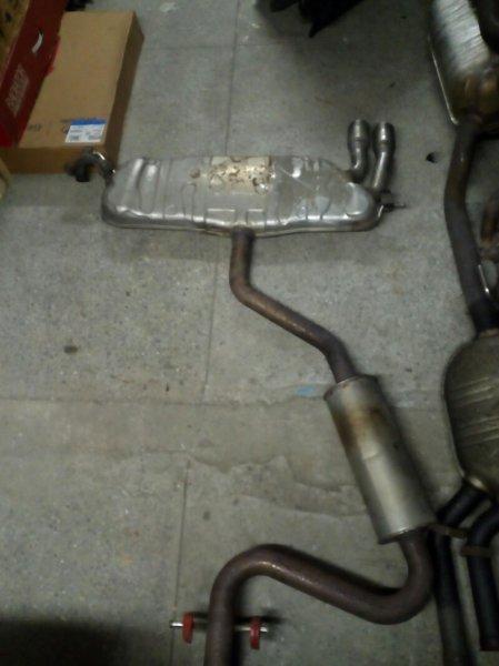 Глушитель Volkswagen Golf 1K1 AXX