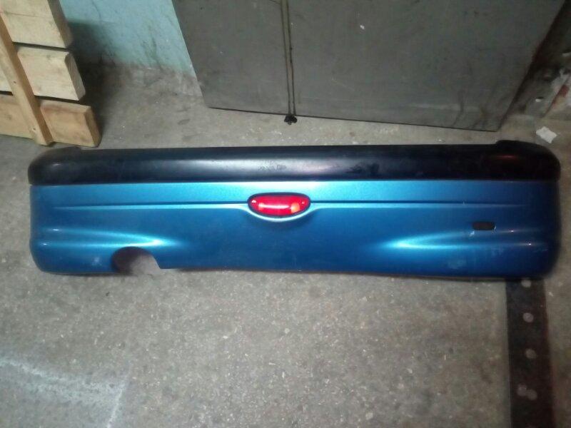 Бампер задний Peugeot 206 2A/C DV4TD