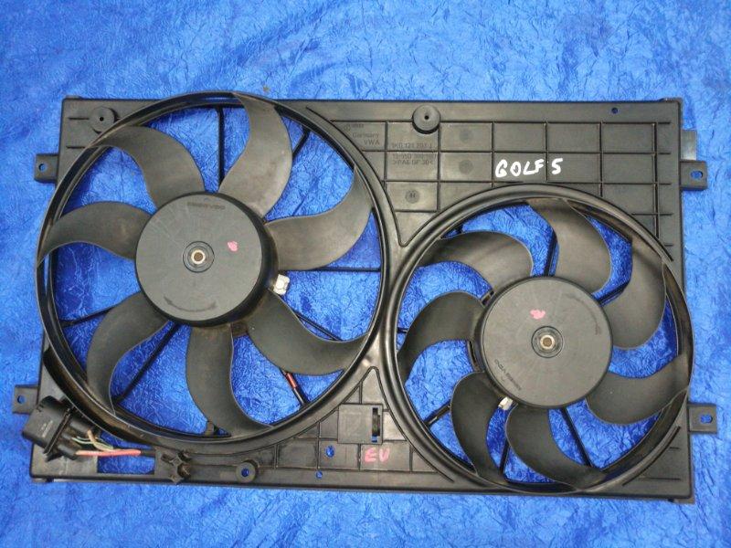 Вентилятор радиатора Volkswagen Golf Passat Caddy Beetle 1K1 AXX
