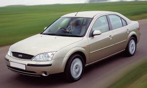 Защита картера двигателя железная Ford Mondeo