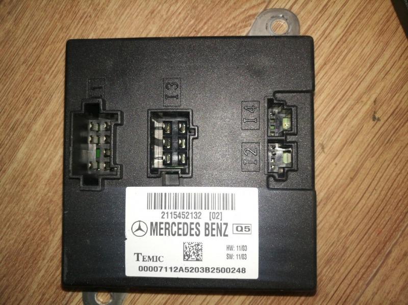 Блок управления sam Mercedes-Benz E-Class W211 M112E26