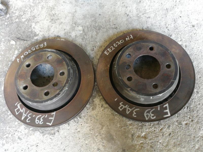 Диск тормозной задний Bmw 5-Series E39 M47D20
